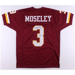 "Mark Moseley Signed Jersey Inscribed ""MVP 82"" (JSA COA)"
