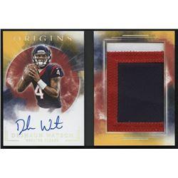 2017 Panini Origins Rookie Booklet Patch Autographs #RBADW Deshaun Watson #2/10