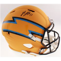 Keenan Allen Signed Los Angeles Chargers AMP Alternate Speed Helmet (Beckett COA)