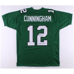 "Randall Cunningham Signed Jersey Inscribed ""Ultimate Weapon"" (JSA COA)"