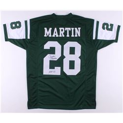 "Curtis Martin Signed Jersey Inscribed ""HOF 12"" (Beckett COA)"