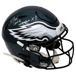 "Brian Dawkins Signed Philadelphia Eagles Full-Size Authentic On-Field SpeedFlex Helmet Inscribed ""HO"