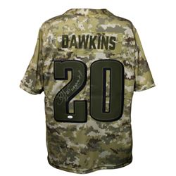 "Brian Dawkins Signed Philadelphia Eagles Nike Salute to Service Jersey Inscribed ""Weapon X!!"" (JSA C"