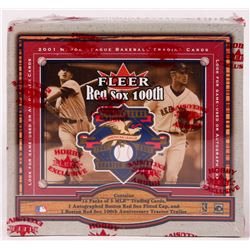 2001 Fleer Boston Red Sox 100th Anniversary Legacy Baseball Hobby Box of (100) Cards