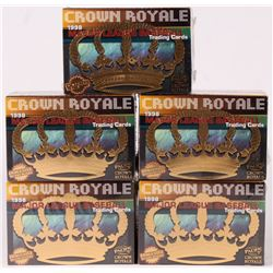 Lot of (5) 1998 Pacific Crown Royale Baseball Card Boxes