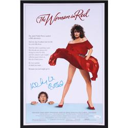 "Kelly LeBrock Signed ""The Woman In Red"" 12x18 Poster (JSA COA)"