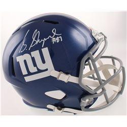 Sterling Shepard Signed New York Giants Full-Size Speed Helmet (JSA COA)