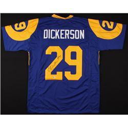 "Eric Dickerson Signed Jersey Inscribed ""HOF 99"" (Beckett COA)"