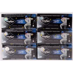 Lot of (6) 2001 Leaf Limited Hobby Exclusive Baseball Unopened Box with (18) Packs
