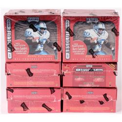Lot of (6) 1999 Absolute Playoff Football Hobby Boxes
