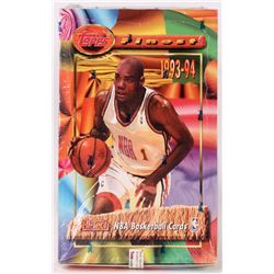 1993-94 Topps Finest Basketball Unopened Box with (24) Packs