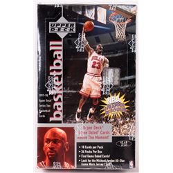1997-98 Upper Deck Basketball Unopened Box with (36) Packs