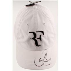 Roger Federer Signed Aerobill Adjustable Hat (JSA COA)