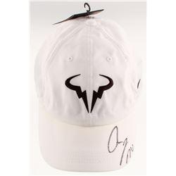 Rafael Nadal Signed Aerobill Adjustable Hat (JSA COA)