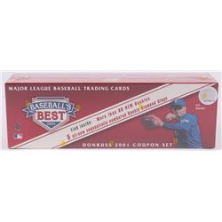 2001 Donruss Baseball's Best Bronze Complete Set of (330) Baseball Cards