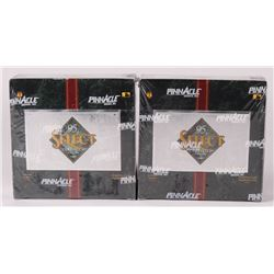 Lot of (2) 1995 Select Certified Baseball Card Hobby Boxes