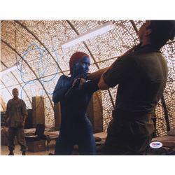 "Jennifer Lawrence Signed ""X-Men: Days Of Future Past"" 11x14 Photo (PSA COA)"