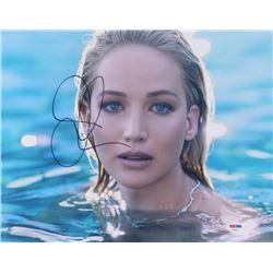 Jennifer Lawrence Signed 11x14 Photo (PSA COA)