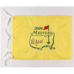Phil Mickelson Signed 2006 Masters Pin Flag (PSA LOA)