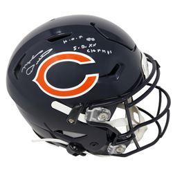 "Mike Ditka Signed Chicago Bears Full-Size Authentic On-Field SpeedFlex Helmet Inscribed ""HOF 88""  ""S"