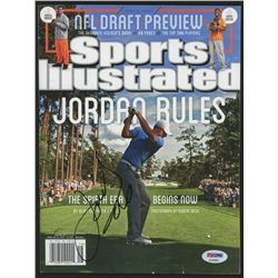 Jordan Spieth Signed 2015 Sports Illustrated Magazine (PSA Hologram)