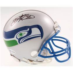 Ricky Watters Signed Seattle Seahawks Mini Helmet (Beckett COA)