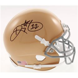 Ricky Watters Signed Notre Dame Fighting Irish Mini Helmet (Beckett COA)