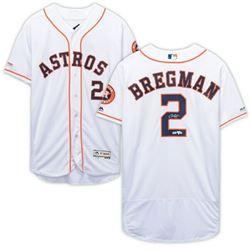 Alex Bregman Signed Houston Astros Jersey (Fanatics Hologram)