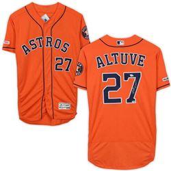 Jose Altuve Signed Houston Astros Jersey (Fanatics Hologram)