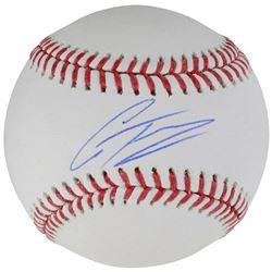 Gleyber Torres Signed OML Baseball (Fanatics Hologram)