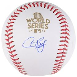 Alex Bregman Signed 2017 World Series Logo Baseball (Fanatics Hologram)