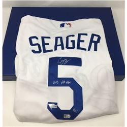 """Corey Seager Signed Los Angeles Dodgers LE Jersey Inscribed """"2017 All Star"""" (Fanatics Hologram)"""