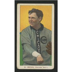1909-11 T206 #57 Mordecai Brown/Chicago Shirt