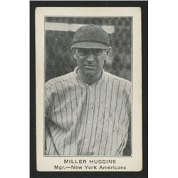 1922 E121 American Caramel Series of 120 #47 Miller Huggins MG