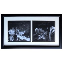 Jimi Hendrix 17x28 Custom Framed Photo Display