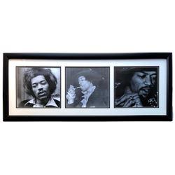 Jimi Hendrix 17x40 Custom Framed Photo Display