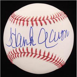 Hank Aaron Signed OML Baseball (PSA COA)