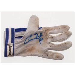 Chase Utley Signed Franklin Batting Glove (PSA COA)