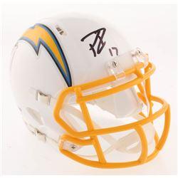 Philip Rivers Signed Los Angeles Chargers Speed Mini Helmet (PSA COA)