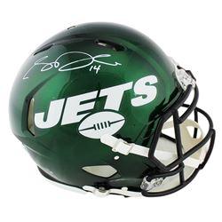 Sam Darnold Signed New York Jets Full-Size Speed Helmet (Radtke COA)