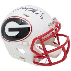 Nick Chubb Signed Georgia Bulldogs AMP Alternate Speed Mini Helmet (JSA COA)