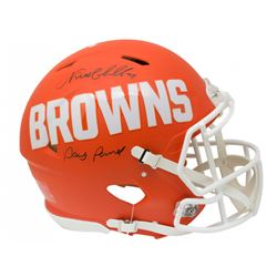 Nick Chubb Signed Cleveland Browns Full-Size Authentic On-Field AMP Alternate Speed Helmet Inscribed