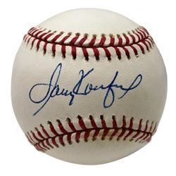 Sandy Koufax Signed ONL Baseball (PSA LOA)