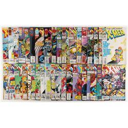 "Lot of (38) 1992-1999 ""The Uncanny X-Men"" 1st Series Marvel Comic Books"