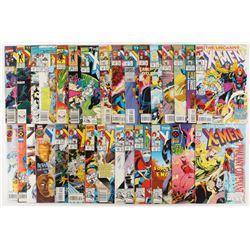 "Lot of (31) 1989-1996 ""The Uncanny X-Men"" 1st Series Marvel Comic Books"