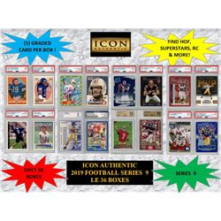 ICON AUTHENTIC  2019 FOOTBALL MYSTERY BOX SERIES - 9