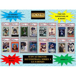 ICON AUTHENTIC  2019 FOOTBALL MYSTERY BOX SERIES - 8