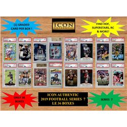 ICON AUTHENTIC  2019 FOOTBALL MYSTERY BOX SERIES - 7