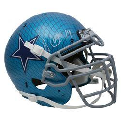 Amari Cooper Signed Dallas Cowboys Full-Size Hydro Dipped Helmet (Beckett COA)