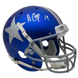 Amari Cooper Signed Dallas Cowboys Full-Size Helmet (JSA COA)
